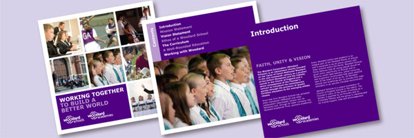 Download your free copy of the Woodard prospectus