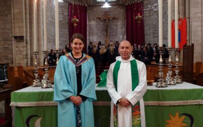 Denstone College celebrates the formal Installation of Miss Lotte Tulloch and the Installation and Licensing of Reverend Edge